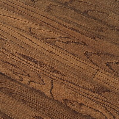"Bruce Flooring Northshore Plank 7"" Engineered Red Oak Flooring in Saddle"