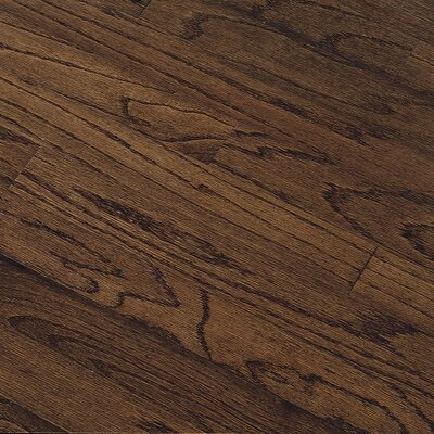 "Bruce Flooring Northshore Plank 5"" Engineered Red Oak Flooring in Vintage Brown"