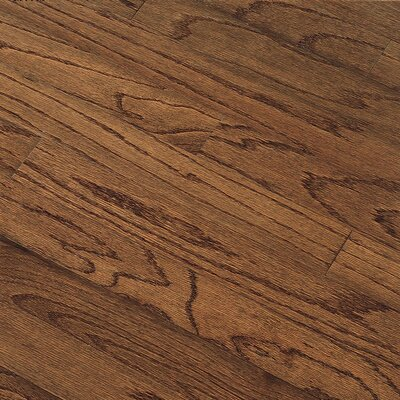 "Bruce Flooring Northshore Plank 5"" Engineered Red Oak Flooring in Saddle"