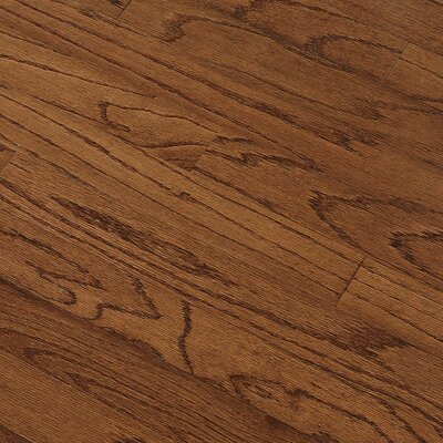 "Bruce Flooring Summerside Strip 2-1/4"" Engineered Red Oak Flooring in Saddle"