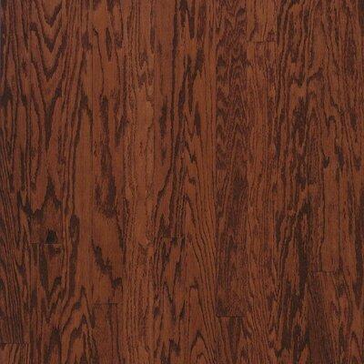 "Bruce Flooring Turlington Plank 5"" Engineered Red Oak Flooring in Cherry"