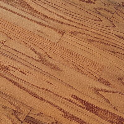 "Bruce Flooring Northshore Plank 7"" Engineered Red Oak Flooring in Gunstock"