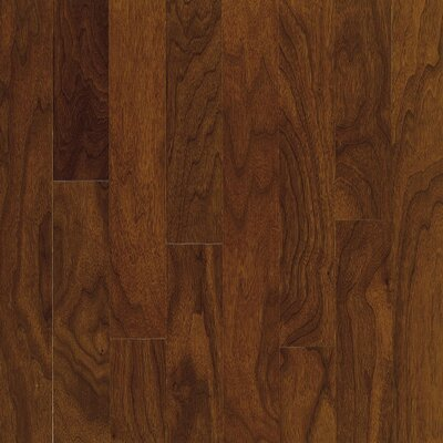 "Bruce Flooring Turlington 5"" Engineered Walnut Flooring in Autumn Brown"