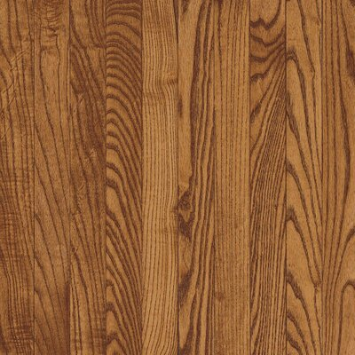 "Bruce Flooring Westchester Strip 2-1/4"" Solid Red/White Oak Flooring in Gunstock"