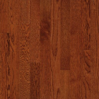 "Bruce Flooring Waltham Strip 2-1/4"" Solid White Oak Flooring in Whiskey"