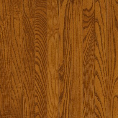 "Bruce Flooring Dundee Strip 2-1/4"" Solid Red / White Oak Flooring in Gunstock"