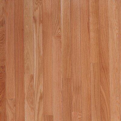 "Bruce Flooring Fulton Plank 3-1/4"" Solid White Oak Flooring in Seashell"