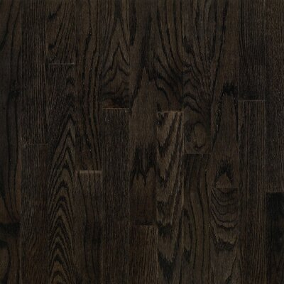 "Bruce Flooring Dundee Strip 2-1/4"" Solid Red Oak Flooring in Espresso"