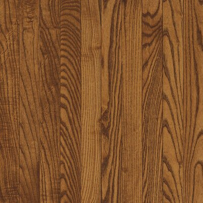 "Bruce Flooring Dundee Strip 2-1/4"" Solid White Oak Flooring in Fawn"