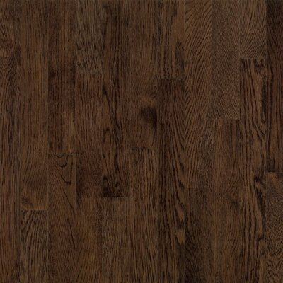 "Bruce Flooring Dundee Strip 2-1/4"" Solid White Oak Flooring in Mocha"