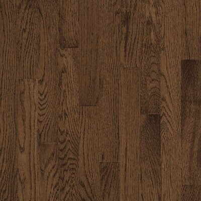 "Bruce Flooring Natural Choice Strip 2-1/4"" Solid Red / White Oak Flooring in Walnut"