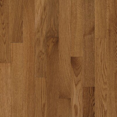 "Bruce Flooring Natural Choice Strip 2-1/4"" Solid Red / White Oak Flooring in Mellow"