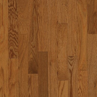 "Bruce Flooring Natural Choice Strip 2-1/4"" Solid Red / White Oak Flooring in Gunstock"