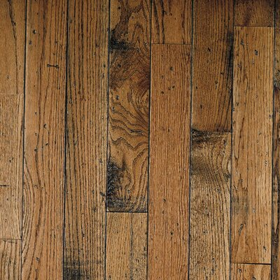 "Bruce Flooring Ellington Plank 3-1/4"" Solid Red / White Oak Flooring in Honey"