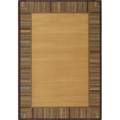 Central Oriental Images Lisbon Gold Striped Rug