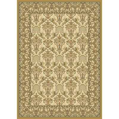 Radiance Elegant Ivy Wheat Rug