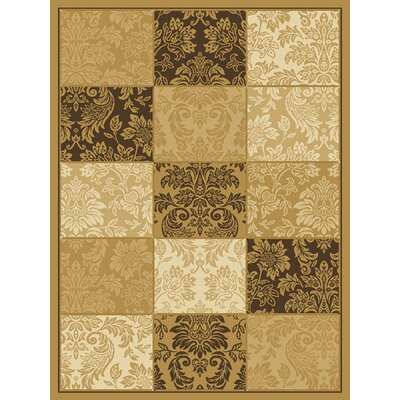 Central Oriental Dimensions Adagio Wheat/Brown Rug