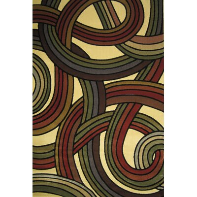Central Oriental Interlude Ribbon Rug