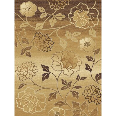 Central Oriental Shadows Hampton Brown Rug