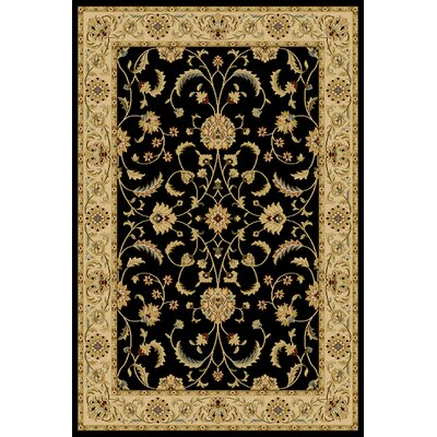 Central Oriental Interlude Atelier Black Rug