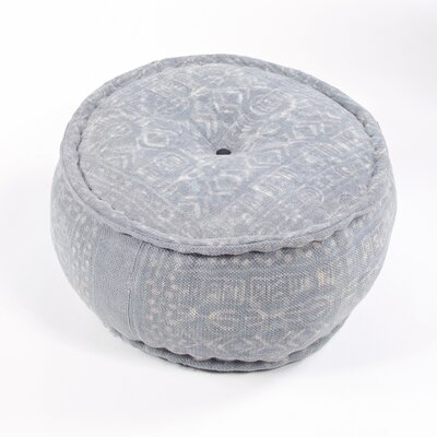 Dabu Modern Cylindrical Cotton Pouf
