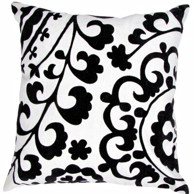 Pop Nomad Contemporary Suzani Pattern Cotton Pillow