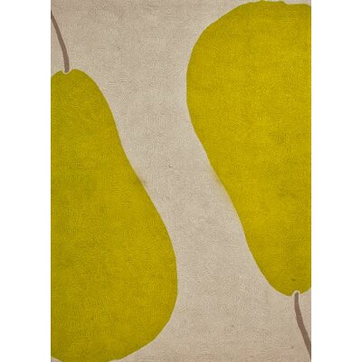 Jaipur Rugs Grant Au Pear Beige Green Indoor/Outdoor Rug