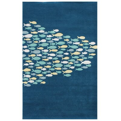 Coastal Living™ by Jaipur Rugs Schooled Aegean Blue Rug