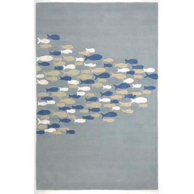 Coastal Living™ by Jaipur Rugs Schooled Pastel Blue Rug