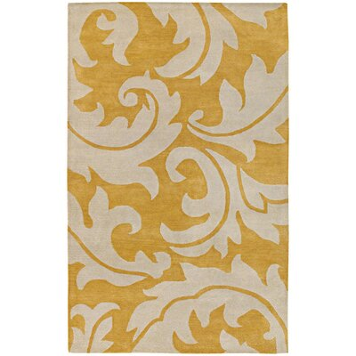 Blue Golden Apricot/Antique White Rug