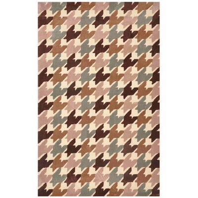 Jaipur Rugs Brio Houndstooth Antique White Rug