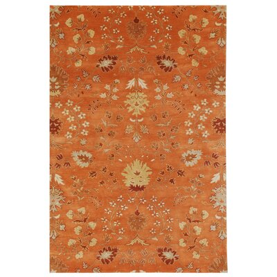 Poeme Lourdes Orange Spice Rug