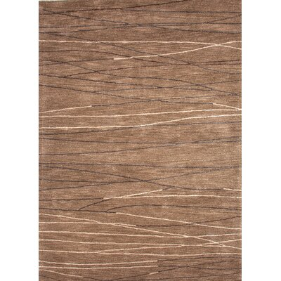 Jaipur Rugs Baroque Gray Brown Geometric Rug