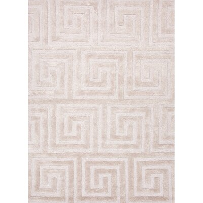 Jaipur Rugs City Dark Ivory Geometric Rug