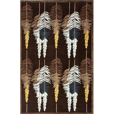 Fables Brown/Beige Floral Rug