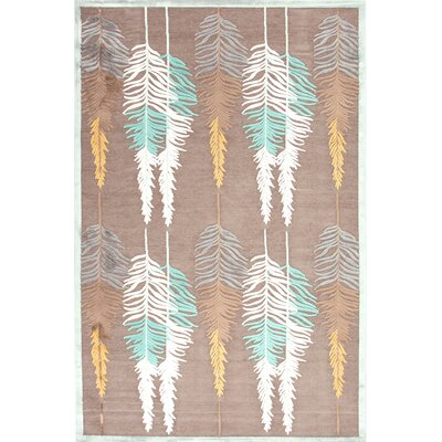 Fables Beige/Brown Floral Rug