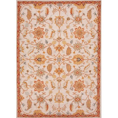 Poeme Beige/Brown Floral Rug