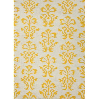 Urban Bungalow Gold Floral Rug