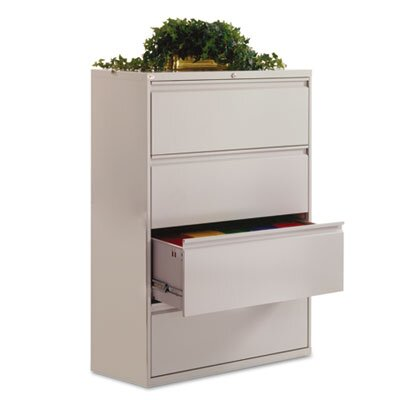 "Alera® 42"" Four-Drawer Lateral File Cabinet"