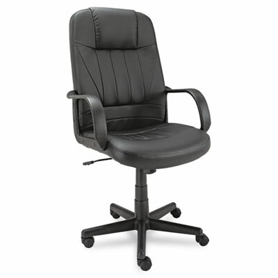 Alera® Sparis Executive High-Back Leather Office Chair