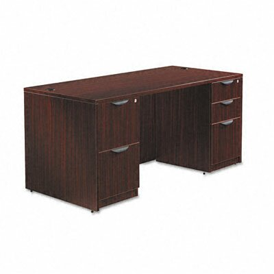 "Alera® Valencia Series 66"" Executive Desk Shell"