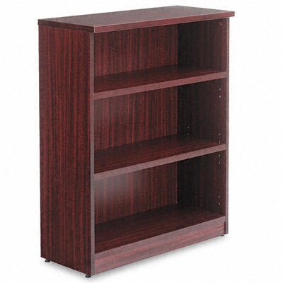 Alera® Valencia Series Three-Shelve Bookcase and Storage Cabinet