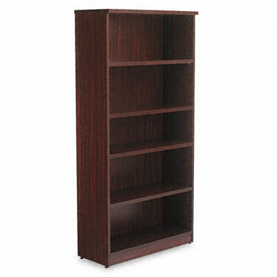 Alera® Valencia Series Five-Shelve Bookcase and Storage Cabinet