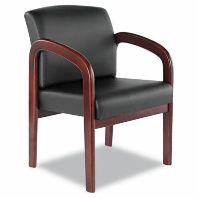 Alera® Leather Reception Guest Chair