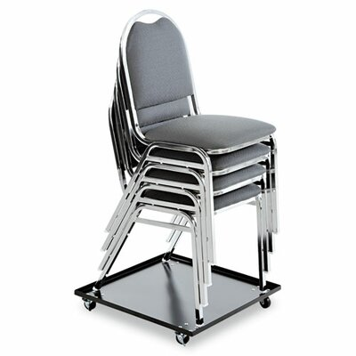 Alera® Stacking Chair Dolly in Black