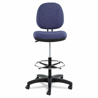 Alera® Height Adjustable Interval Series Swivel Task Stool