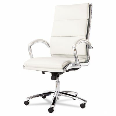 Alera® High-Back Faux Leather Neratoli Slim Profile Office Chair