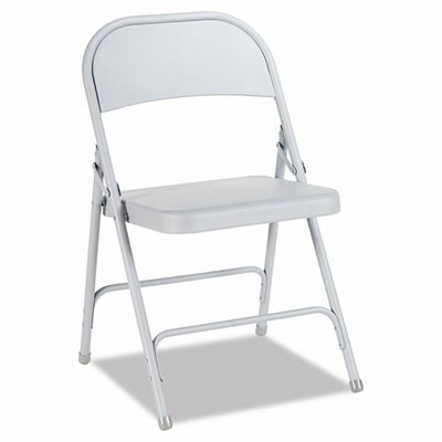 Alera® Steel Folding Chair (Set of 4)