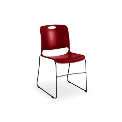KI Furniture Maestro Stack Chair with Black Frame