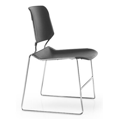 KI Furniture Matrix Stack Chair with Chrome Frame